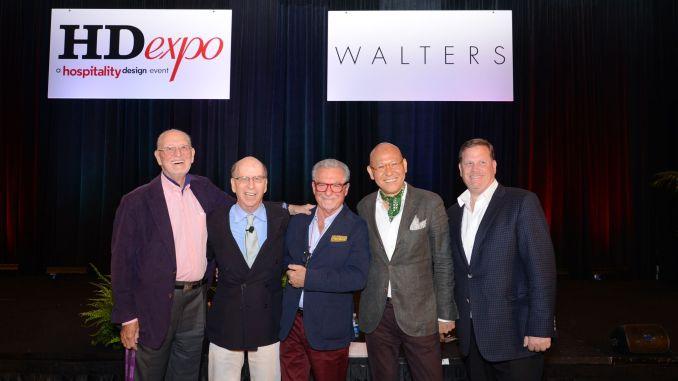 HD expo 2016 Industry veterans Michael Bedner, David Beer, Tony Chi and Adam Tihany