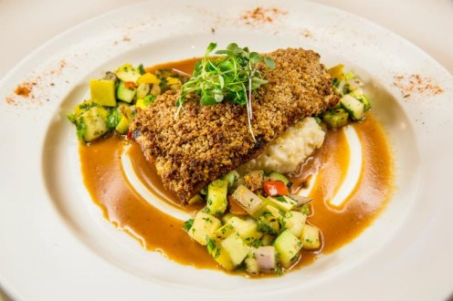 Pecan Crusted Texas Redfish at Emeril's New Orleans Fish House