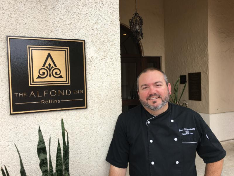 The Alfond Inn at Rollins Welcomes Executive Chef Jason M. Klingensmith