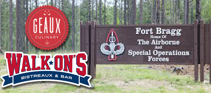 Geaux Culinary To Bring Walk-On's To Fort Bragg - Food & Beverage