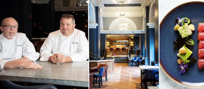 First Michelin Star For Siren Chef Robert Wiedmaier Washington