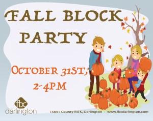 Fall Block Party
