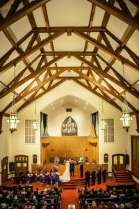 Wedding in Sanctuary