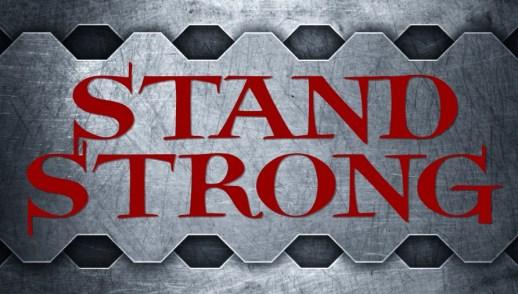 Stand Strong Helmet of Salvation Sword of the Spirit