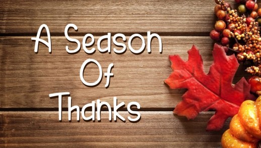 Season of Thanks 1 Timothy 1:12-17