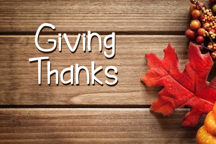 Giving Thanks 1 Thessalonians 1:1-5