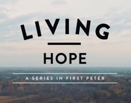 Living Hope 1 Peter 3:1-7