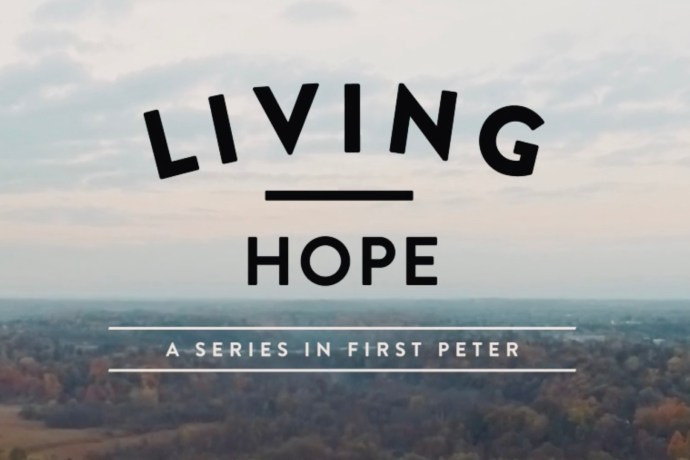 Living Hope for Tough Times 1 Peter 3:18-22