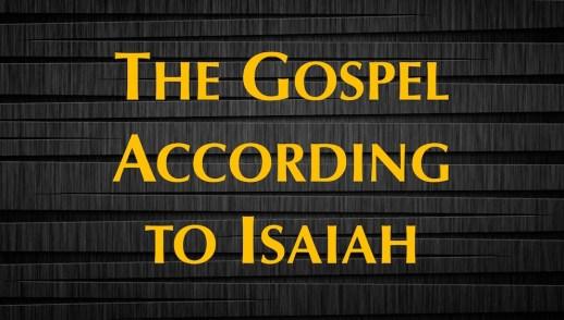 Gospel According to Isaiah 53:10-12