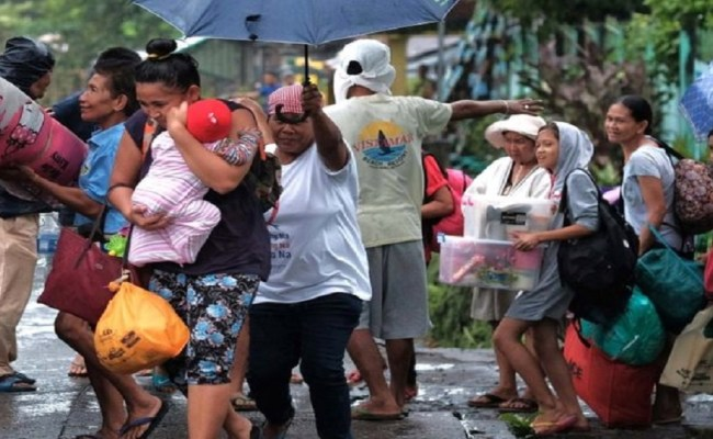 Typhoon Kammuri Slams Into Philippines Forcing Thousands