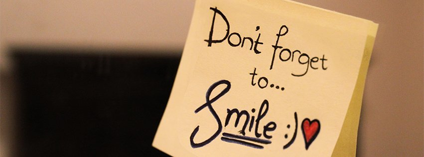 Emo Wallpaper Quotes Dont Forget To Smile Facebook Cover Maker Fbcoverlover Com