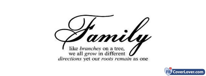 Familly Quotes and Sayings Facebook Cover