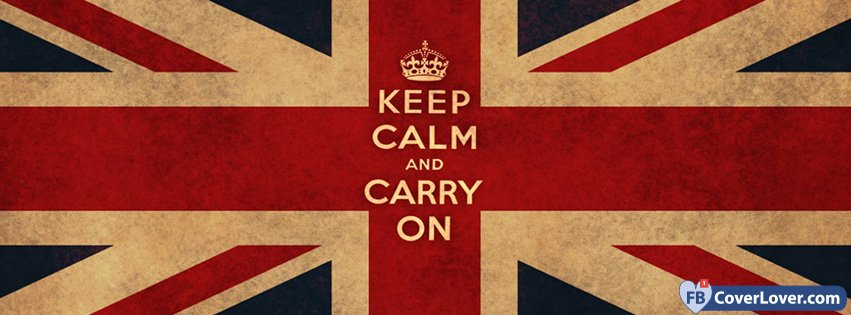 Quiet Girl Wallpaper Download Keep Calm And Carry On Quotes And Sayings Facebook Cover