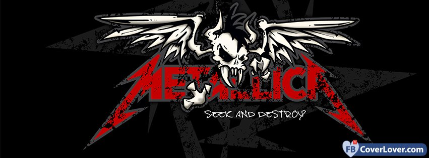 Dreamcatcher Wallpaper With Quote Metallica Seek And Destroy Music Facebook Cover Maker