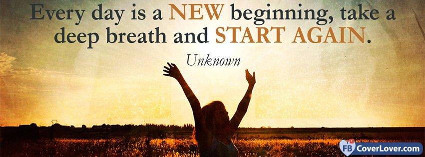 New Beginning Life Facebook Cover Maker