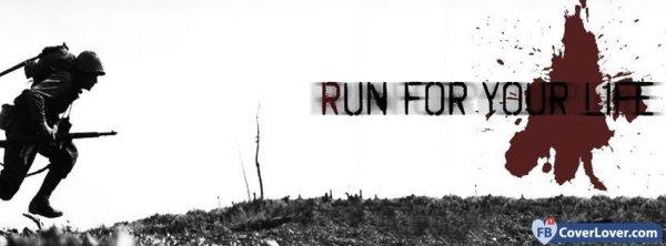 Run For Your Life Life Facebook Cover Maker Fbcoverlovercom
