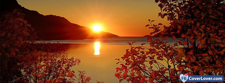 Cool Fall Wallpaper Sea Mountains Tree Branches Nature And Landscape Facebook