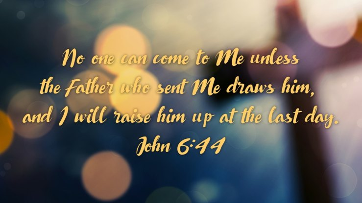 Image result for free photo of John 6: 44-51