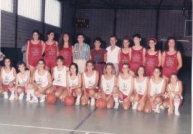 FOTO 6.- Mercaselex femenino junior y senior 1987-88