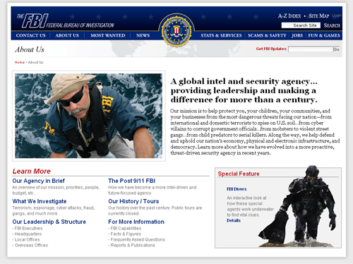 Us Security Website