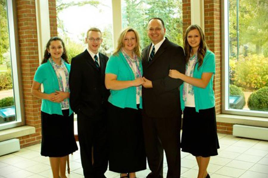 Missionary Elias Correa Family