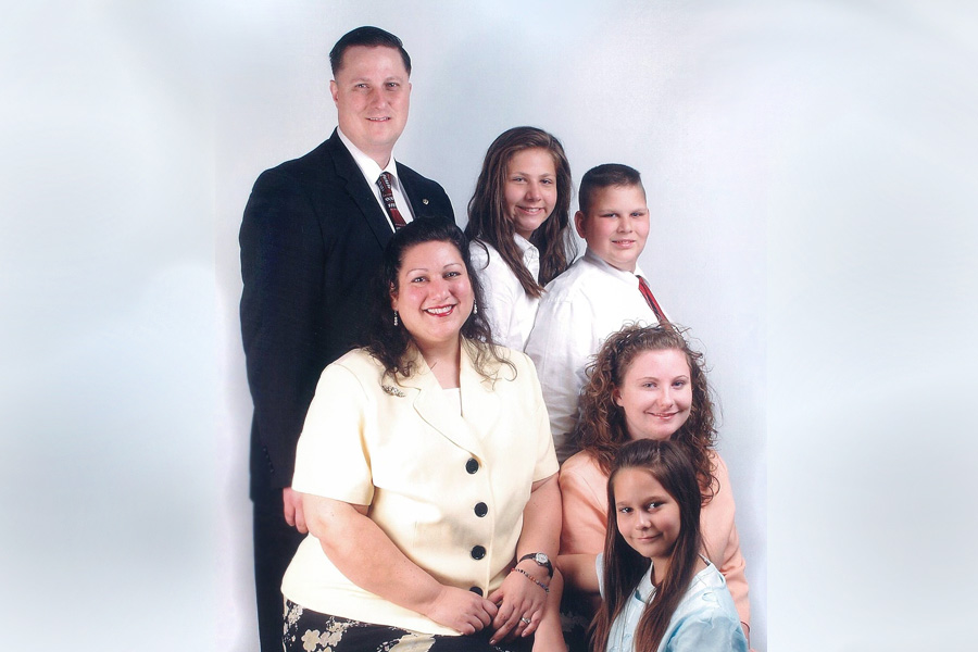 Missionary Ron Back Family