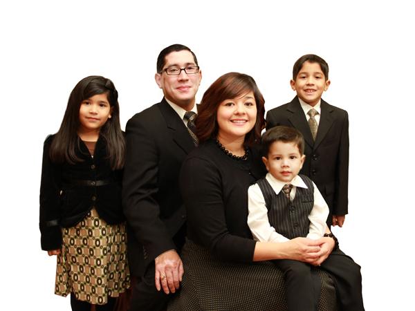 Missionary Abraham Avila Family