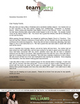 Chris Williams Prayer Letter:  Souls Saved on Deputation