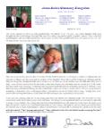 James Belisle Prayer Letter:  New Granddaughter