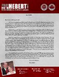 Brian Hebert Prayer Letter:  Fruitful Month of Deputation