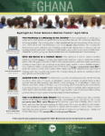 Team Ghana National Pastor Spotlight:  Privileged to Pastor