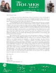 Mark Holmes Prayer Letter:  Arrival for Furlough