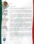 Chris Sage Prayer Letter:  New Church Plant Doing Well