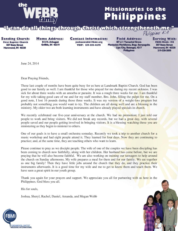 thumbnail of Joshua Webb June 2014 Prayer Letter