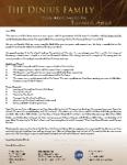 Tom Dinius Prayer Letter:  Update on Phase 1