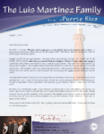 Luis Martinez Prayer Letter:  Summer Attendance Up With Souls Saved and Baptized