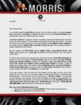 Peter Morris Prayer Letter:  Preparation for Kenya