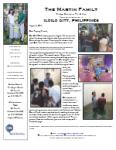 Ricky Martin Prayer Letter:  10 Years in Iloilo