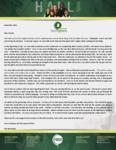 Baraka Hall Prayer Letter:  Seeing God's Hand