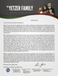Christopher Yetzer Prayer Letter:  Summer Summary