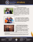 Teaching All Nations Prayer Letter:  A Third Continent for TAN