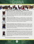 Team Ghana National Pastor Spotlight:  Lina's Mother Trusts Christ