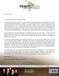 Zach Foust Prayer Letter:  Goldfish Sunday