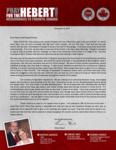 Brian Hebert Prayer Letter:  Kentucky Fried Blessings
