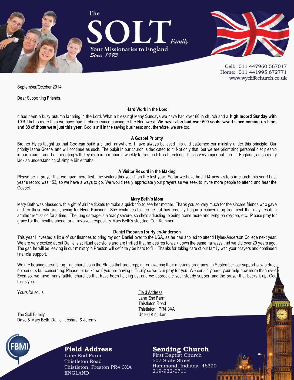 thumbnail of Dave Solt Sep-Oct 2014 Prayer Letter