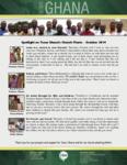 Team Ghana National Pastor Spotlight:  Mr. Antwi Brings His Family
