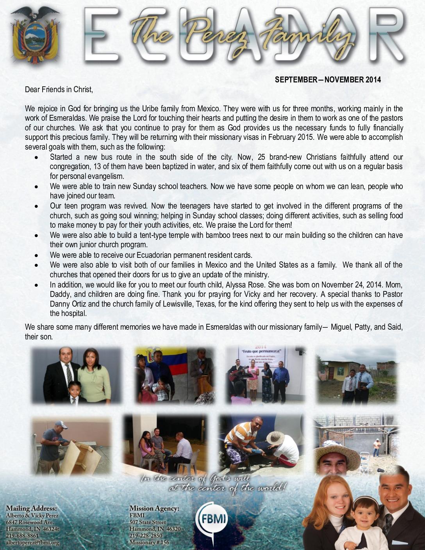 thumbnail of Alberto Perez Sep-Nov 2014 Prayer Letter