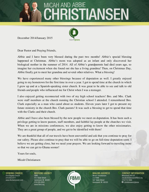 thumbnail of Micah Christiansen Dec 2014-Jan 2015 Prayer Letter