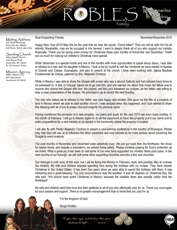 thumbnail of Sergio Robles Nov-Dec 2014 Prayer Letter