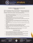 Teaching All Nations Prayer Letter:  Praises for 2014